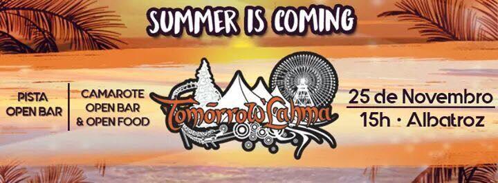 TomorrowLahma   Summer Is Coming 2017   Sympla
